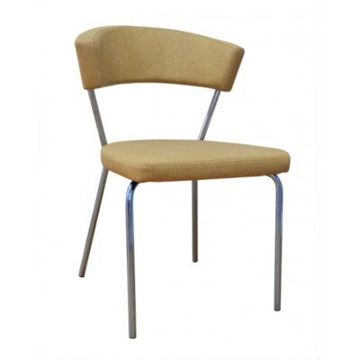 Azurro Side Chair Upholstery Color: Biege