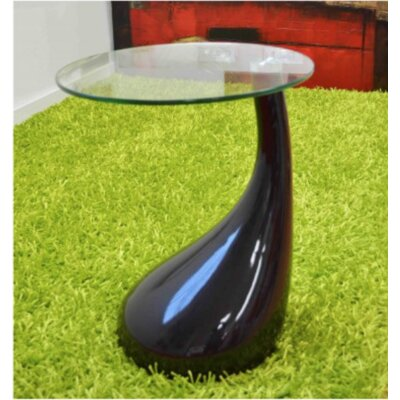 Nelda End Table Finish: Black