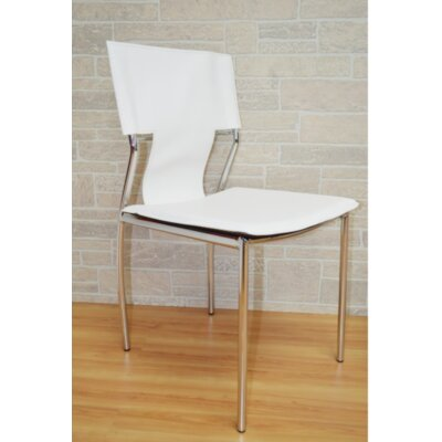 Kubu Side Chair Upholstery: White
