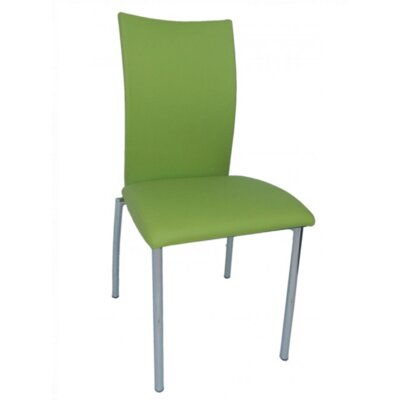 Vogue Side Chair Upholstery: Green