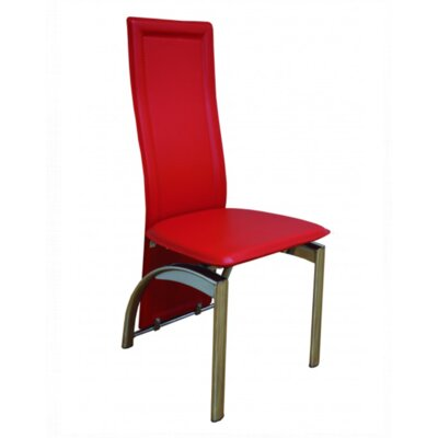 Joveco Side Chair Upholstery: Red