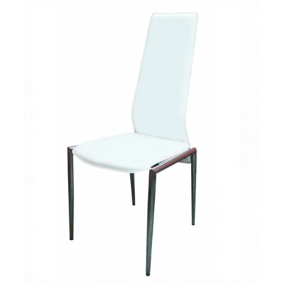 Replica Side Chair Upholstery: White