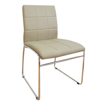 Ruzzi Side Chair Upholstery: Tan