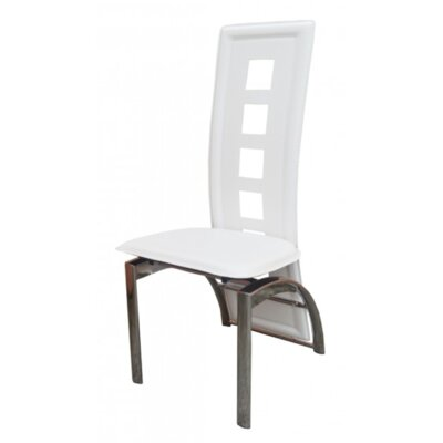 Eliane Side Chair Upholstery: White