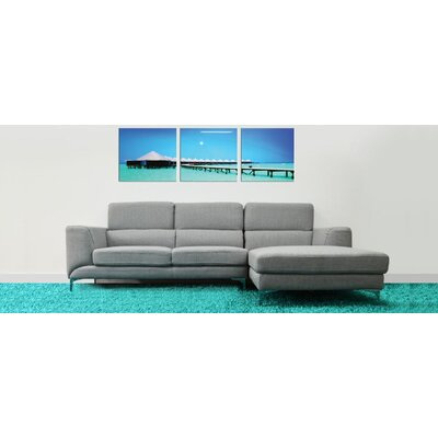 Bicado Sectional Upholstery: Gray