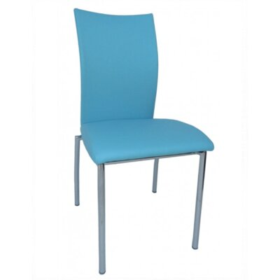 Vogue Side Chair Upholstery: Turquoise