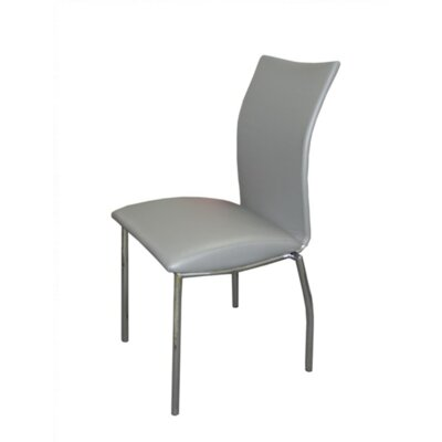 Vogue Side Chair Upholstery: Gray