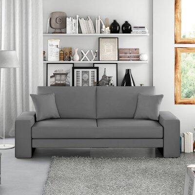 Supra Sleeper Sofa Upholstery: Gray