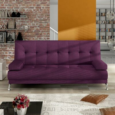Venice Convertible Sofa Upholstery: Violet