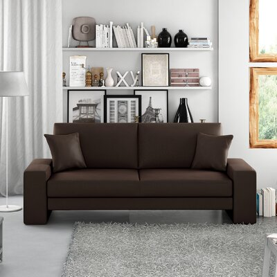 Supra Sleeper Sofa Upholstery: Brown