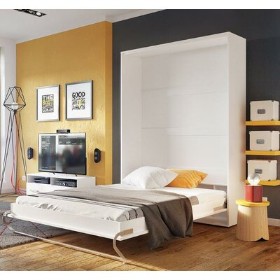 Vertical Concord Pro Wall Full/Double Murphy Bed