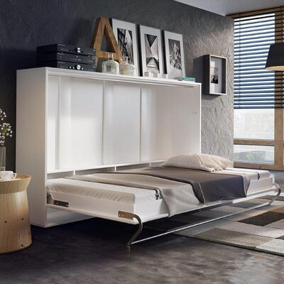 Horizontal Concord Pro Wall Full/Double Murphy Bed