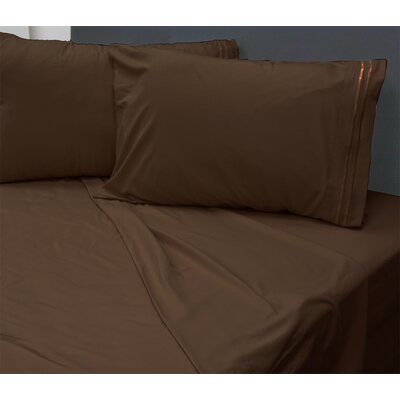 Summers 1800 Sheets Size: Queen, Color: Chocolate
