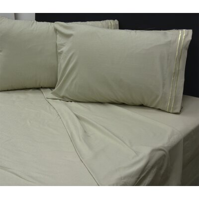 Summers 1800 Sheets Size: Double, Color: Sage