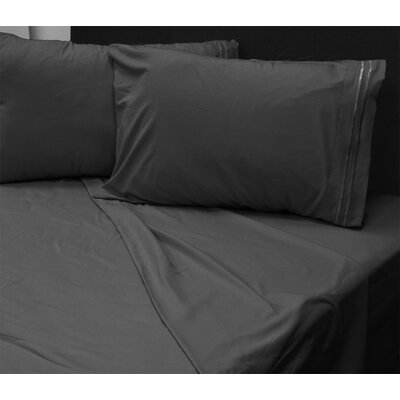 Summers 1800 Sheets Size: King, Color: Black