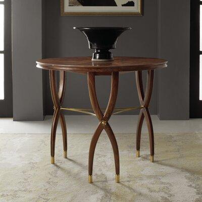 Marchand Center End Table Color: Walnut Veneer