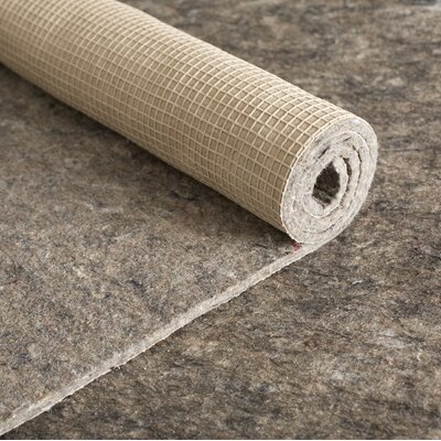 Anchor Grip 30 0.375 Felt and Rubber Rug Pad Rug Pad Size: Rectangle 99 x 119