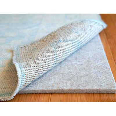 Eco Plush 0.5 Felt Rug Pad Rug Pad Size: Rectangle 9 x 13