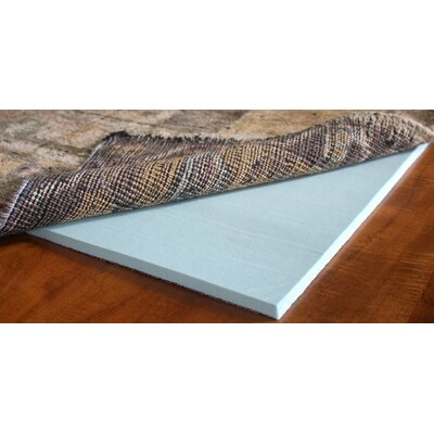 Cloud Comfort 0.25 Memory Foam Rug Pad Rug Pad Size: Rectangle 12 x 18