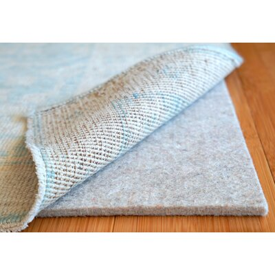 Eco Plush 0.375 Felt Rug Pad Rug Pad Size: Rectangle 12 x 18