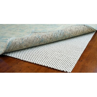 Super Lock Natural Rubber Rug Pad Rug Pad Size: Rectangle 11 x 14