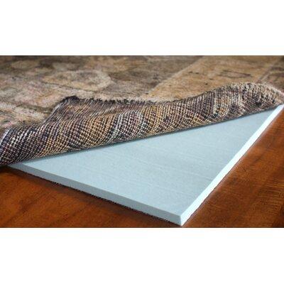 Cloud Comfort Memory Foam Rug Pad Rug Size: 99 x 119