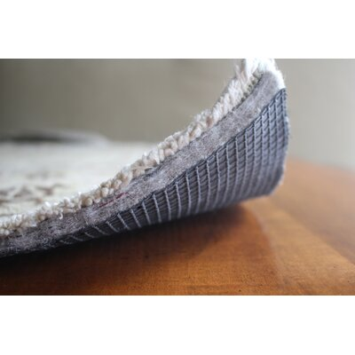 Superior Lock 0.44 Felt and Rubber Rug Pad Rug Pad Size: Runner 3 x 12