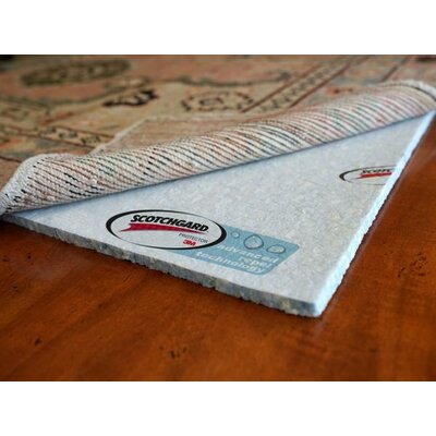 Spill Tech Scotchguard 3M Waterproof with Advanced Repel Technology Rug Pad Rug Size: Round 4