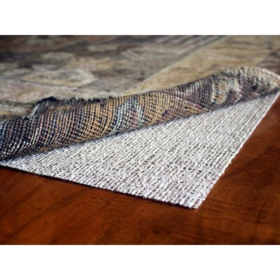 Natures Grip Non-Skid Jute and Natural Rubber Eco Friendly Rug Pad Rug Pad Size: Rectangle 49 x 79