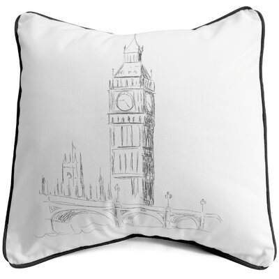 Big Ben Cotton Pillow Cover