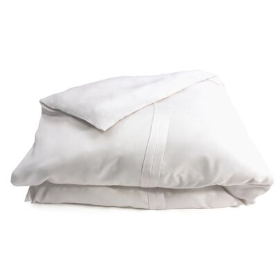 Double Pleat Cotton Sateen Duvet