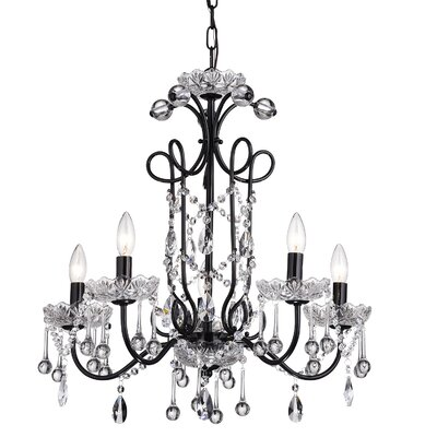 Elora 5-Light Crystal Chandelier