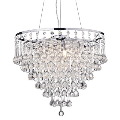 Hera 5-Light Crystal Chandelier