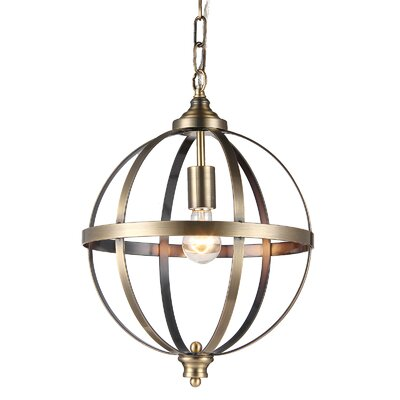 Eberhart 1-Light Globe Pendant
