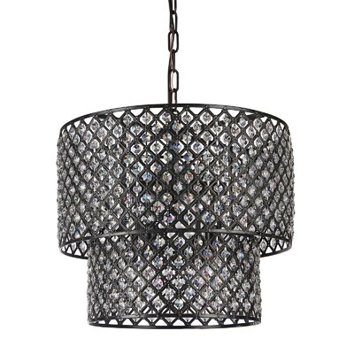 Clemence 8-Light Drum Chandelier