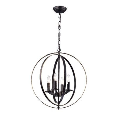 Lexington Avenue 4-Light Globe Pendant