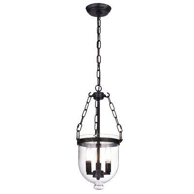 Liao 3-Light Foyer Pendant