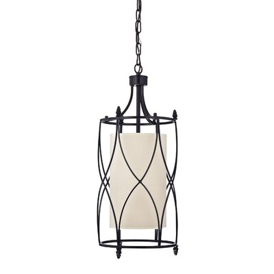 Merga Wrought Iron 1-Light Foyer pendant