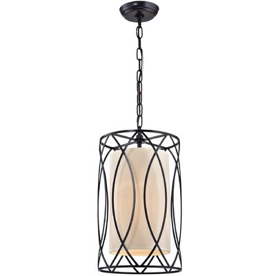Franck Wrought Iron 1-Light Foyer Pendant