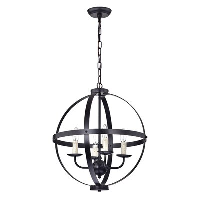 Licata 4-Light Globe Pendant