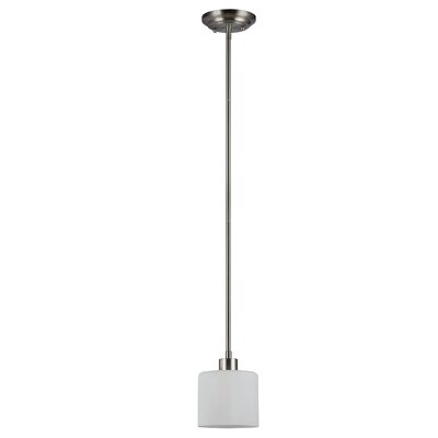 Sakar Glass 1-Light Mini Pendant
