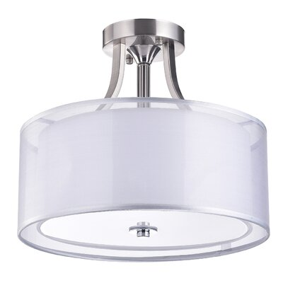 Gisselle 3-Light Semi Flush Mount