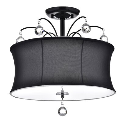 Hattie 4-Light Semi Flush Mount