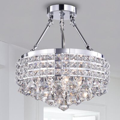 Harleigh 4-Light Semi Flush Mount