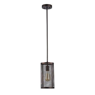 Bouffard Metal Mesh 1-Light Mini Pendant