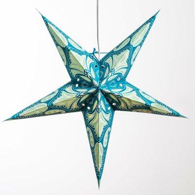 Lotus Paper Star Pendant