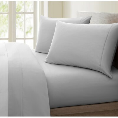 Mountville 1200 Thread Count 4 Piece Sheet Set Size: Queen, Color: Charcoal Gray