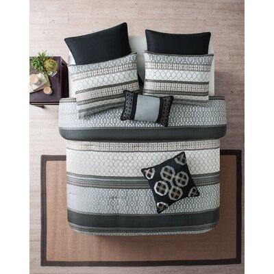 Crenshaw 8 Piece Comforter Set Size: Queen