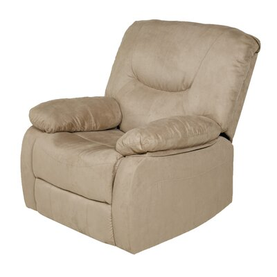 Karuna Handle Rocker Recliner Upholstery : Beige