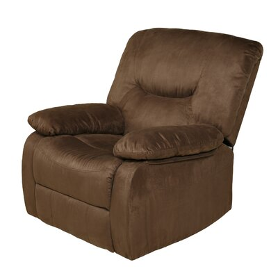 Karuna Handle Rocker Recliner Upholstery : Brown